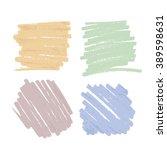 pen stroke background vector... | Shutterstock .eps vector #389598631