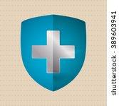 medical care design | Shutterstock . vector #389603941