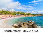 a view of beach in proteas bay  ... | Shutterstock . vector #389615665