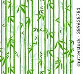 Vector  Bamboo In Green Colors...