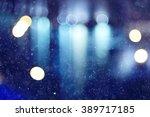 Blurred Background Snow...