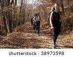 walk of day off. | Shutterstock . vector #38973598