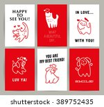vector flat pet logo. dog  cat...   Shutterstock .eps vector #389752435