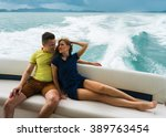 romantic vacation and luxury... | Shutterstock . vector #389763454