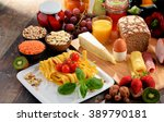 composition with variety of... | Shutterstock . vector #389790181