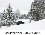small house in winter | Shutterstock . vector #38980300