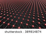 abstract polygonal space low...   Shutterstock . vector #389814874