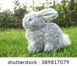 Stuffed Rabbit On The Grass