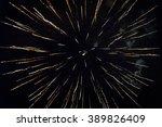 fireworks light up the sky   Shutterstock . vector #389826409