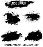 vector set of grunge brush...   Shutterstock .eps vector #389826889