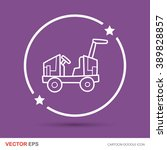 toy car doodle | Shutterstock .eps vector #389828857