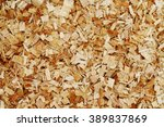 Sawdust Background   Close Up ...