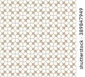 beige seamless flower pattern... | Shutterstock .eps vector #389847949