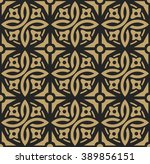 abstract vintage geometric... | Shutterstock .eps vector #389856151