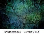 Ancient Dark Blue Green Textur...