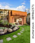 Beautiful Home Exterior On...