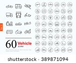 set of transport icons for web... | Shutterstock .eps vector #389871094