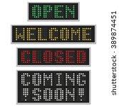 E Panel Text  Welcome  Open ...