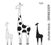 Vector Giraffe Logo...