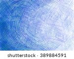 pencil background touches blue | Shutterstock . vector #389884591