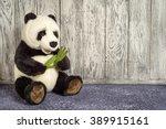 Old Vintage Panda Soft Toy In...