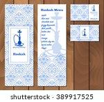 vector illustration of a menu... | Shutterstock .eps vector #389917525