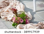 wedding decor | Shutterstock . vector #389917939