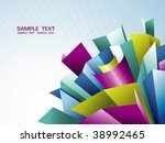 abstract background   Shutterstock .eps vector #38992465