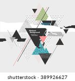 abstract  background with... | Shutterstock .eps vector #389926627