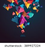 abstract colorful background... | Shutterstock .eps vector #389927224