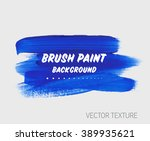 original grunge brush paint... | Shutterstock .eps vector #389935621