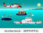 helicopter rescue teams and...