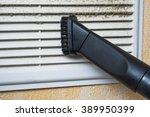 closeup of vacuum cleaner pipe... | Shutterstock . vector #389950399