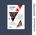 brochure template layout  cover ...   Shutterstock .eps vector #389967985