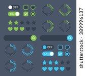 web design elements. universal...