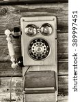 Vintage Public Telephone....