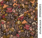 Coffee Seamless Pattern In...