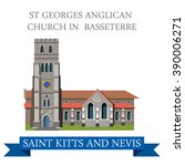 st george anglican church in... | Shutterstock .eps vector #390006271