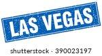 las vegas blue square grunge... | Shutterstock .eps vector #390023197