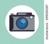 camera icon design  | Shutterstock .eps vector #390050287