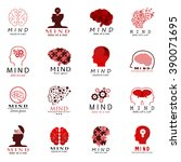 mind icons set   isolated on...