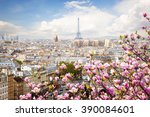 Skyline Paris City Roofs Eiffel - Fine Art prints