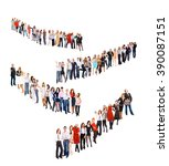 teams over white united... | Shutterstock . vector #390087151