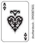 ace of spades | Shutterstock .eps vector #390087601