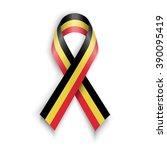 flag of belgium. abstract... | Shutterstock . vector #390095419