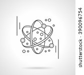 electronics transform. atomic... | Shutterstock .eps vector #390096754