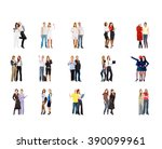 united company people diversity  | Shutterstock . vector #390099961