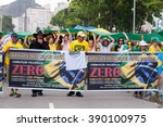 rio de janeiro  brazil   march... | Shutterstock . vector #390100975