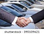 car dealership | Shutterstock . vector #390109621