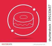 cake doodle   Shutterstock .eps vector #390133657